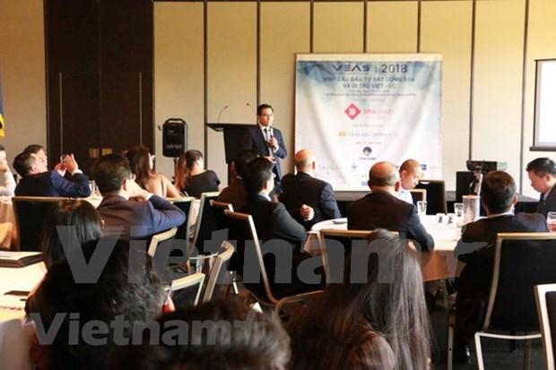 Empresas vietnamitas y australianas estudian oportunidades de cooperacion en sector inmobiliario hinh anh 1