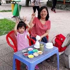 Colorear y divertirse, una opcion para los ninos de Hanoi hinh anh 5