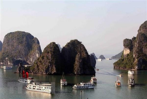 Ha Long aspira a convertirse en un centro turistico internacional hinh anh 1