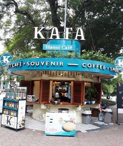 La cultura del delicioso cafe de Hanoi hinh anh 3