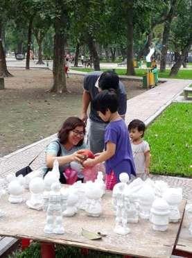 Colorear y divertirse, una opcion para los ninos de Hanoi hinh anh 3