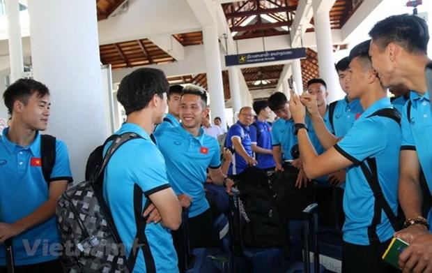 AFF Suzuki Cup: equipo nacional de Vietnam esta listo para primer partido con Laos hinh anh 1