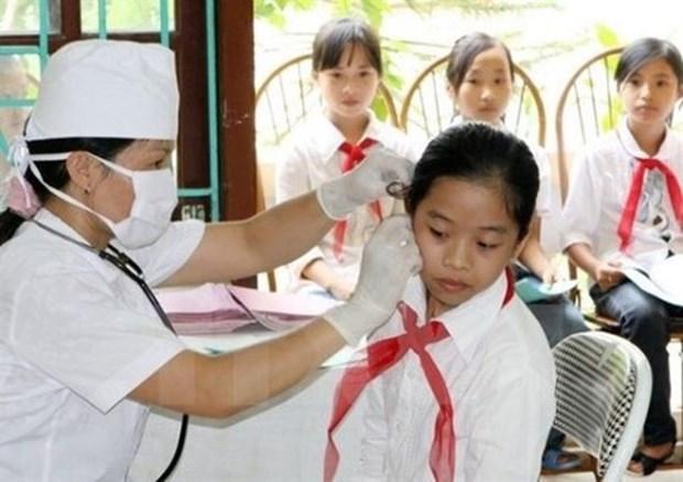 Ciudad Ho Chi Minh apunta a un 98 por ciento de cobertura de seguro de salud para estudiantes hinh anh 1