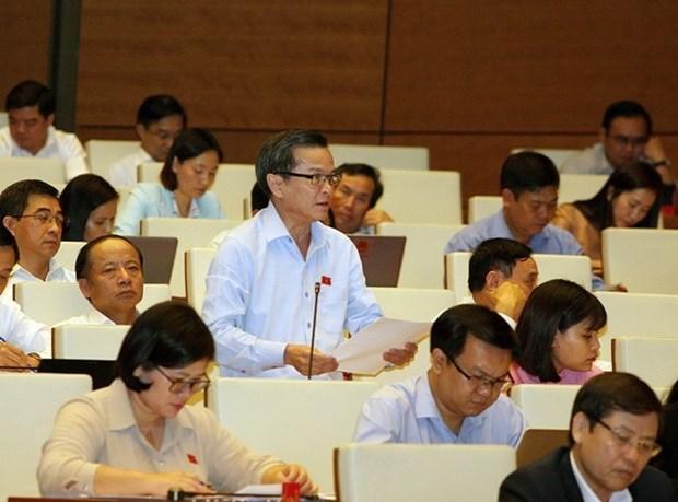 Parlamento vietnamita considera ratificacion del CPTPP y prorroga del otorgamiento de e-visados a extranjeros hinh anh 1