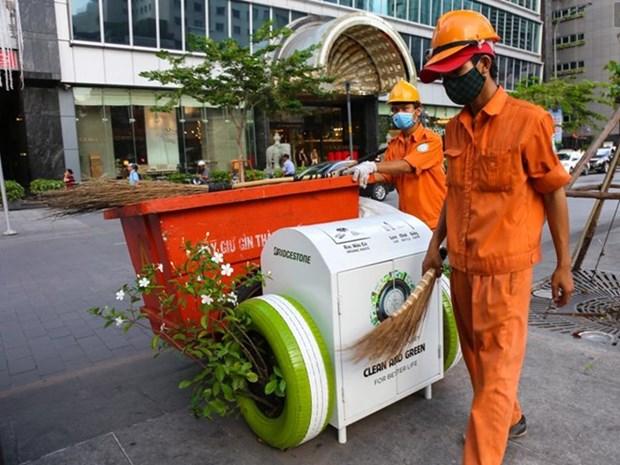 Ciudad vietnamita pone coto a productos de plastico de un solo uso hinh anh 1