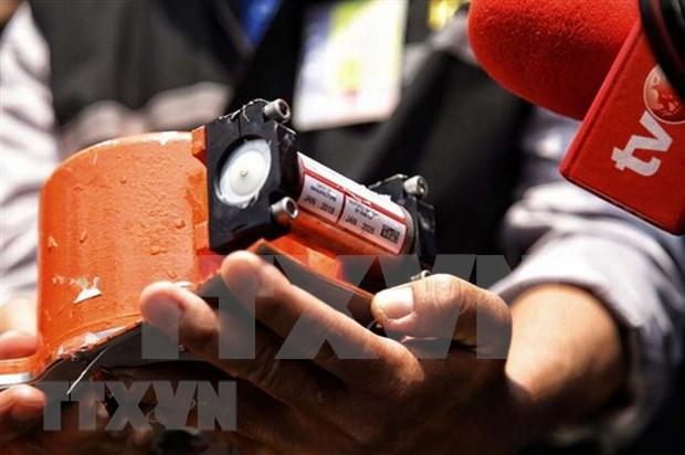 Recuperan datos grabados en una de las cajas negras del siniestrado vuelo de Lion Air hinh anh 1