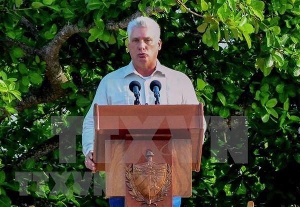 Presidente de Cuba iniciara este jueves visita oficial de tres dias a Vietnam hinh anh 1
