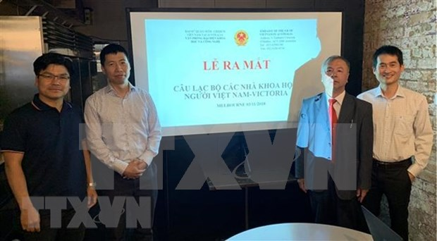 Establecen club de cientificos vietnamitas en estado Victoria de Australia hinh anh 1