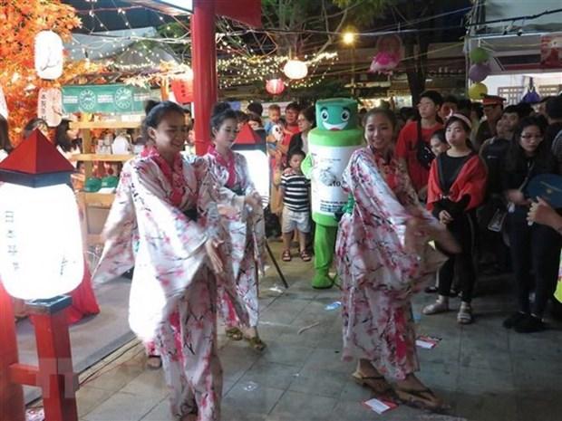Concluye Festival de intercambio cultural y comercial entre Vietnam y Japon hinh anh 1