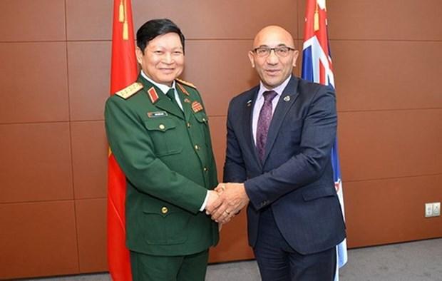 Vietnam y Nueva Zelanda fortalecen cooperacion en defensa hinh anh 1