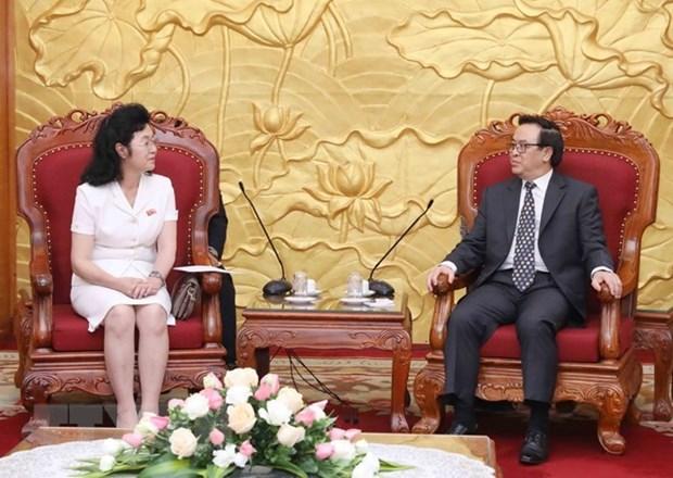 Vietnam atesora relaciones con Corea del Norte, afirma alto funcionario partidista hinh anh 1