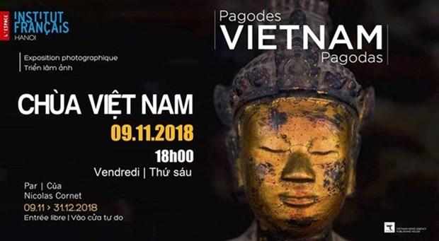 Pagodas de Vietnam en mirada de fotografo frances hinh anh 1