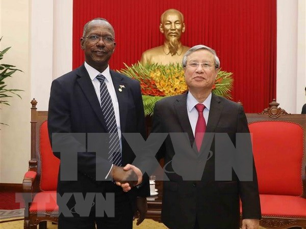 Vietnam y Sudan apuestos por impulso de relaciones bilaterales hinh anh 1