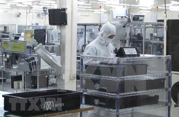 Indice de Produccion Industrial de Vietnam aumento en 10,4 por ciento hinh anh 1