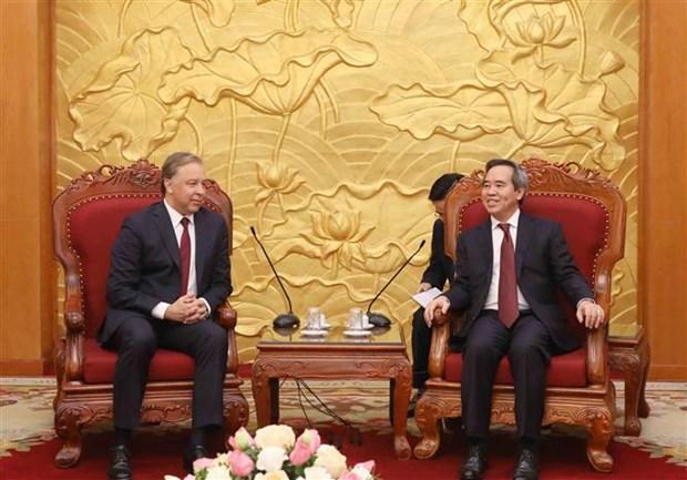 Partidos Comunistas de Vietnam y Rusia fortalecen cooperacion hinh anh 1
