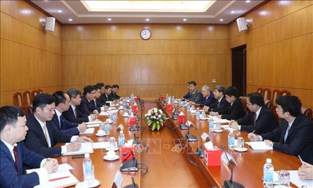 Partido Comunista de Vietnam y Consejo de Estado de China fortalecen cooperacion hinh anh 1