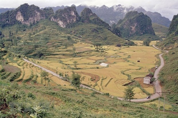 Geoparque vietnamita Non Nuoc Cao Bang recibira titulo de la Unesco este mes hinh anh 1