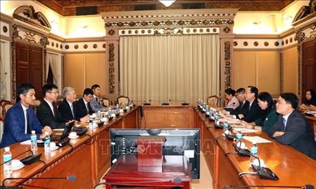 Mitsubishi quiere construir plantas de conversion de residuos en energia en Ciudad Ho Chi Minh hinh anh 1