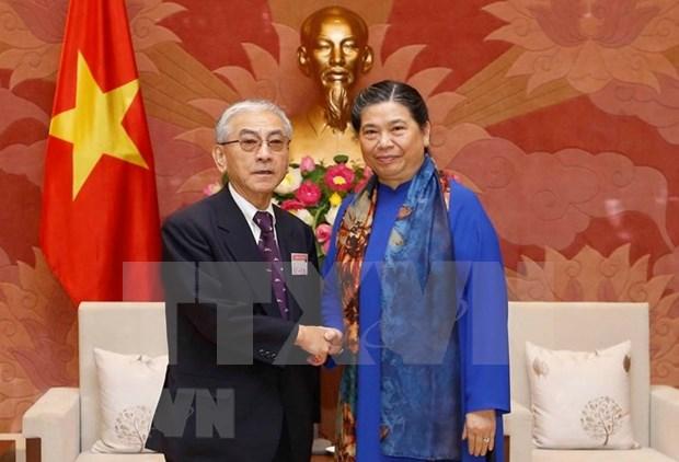 Parlamento de Vietnam respalda el desarrollo de asociacion estrategica con Japon hinh anh 1