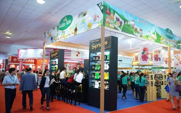 Nutrida asistencia de empresas foraneas a Exposicion de Alimentos y Bebidas de Vietnam hinh anh 1