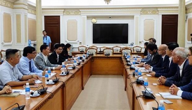 Ciudad Ho Chi Minh y Paises Bajos fomentan cooperacion en tratamiento de agua hinh anh 1