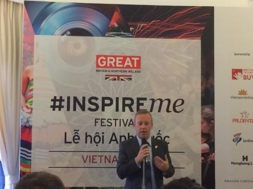 """Festival Britanico """"Inspire Me"""" en Vietnam promete atractivas actividades culturales hinh anh 1"""