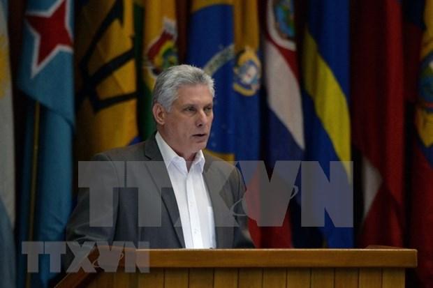 Presidente de Cuba iniciara hoy visita a Vietnam hinh anh 1