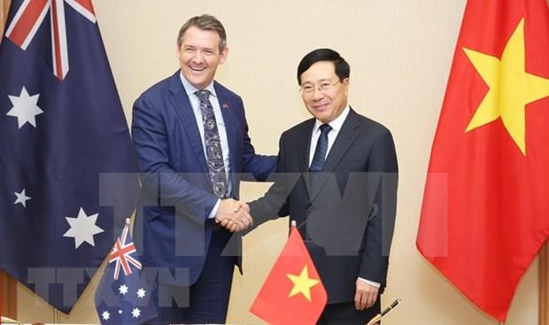 Jefe del Territorio Norte australiano reitera voluntad de fomentar nexos con Vietnam hinh anh 1