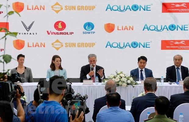 Carrera automovilistica F1 llegara a Hanoi en abril de 2020, anuncia gobierno capitalino hinh anh 1