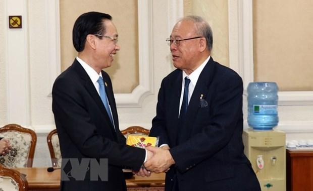 Ciudad Ho Chi Minh se compromete a apoyar organizacion exitosa del Festival Japon-Vietnam hinh anh 1