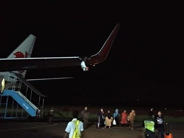 Indonesia: Otro avion de Lion Air sufre un accidente sin causar heridos hinh anh 1