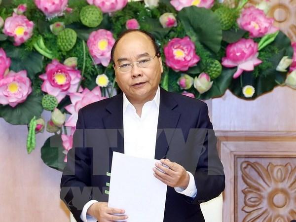Premier de Vietnam preside primera sesion del Subcomite de Economia Social hinh anh 1