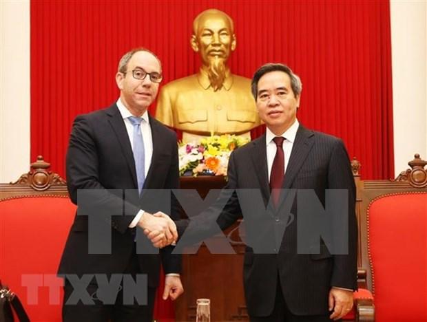 Vietnam atesora lazos con Estados Unidos, afirma alto funcionario partidista hinh anh 1