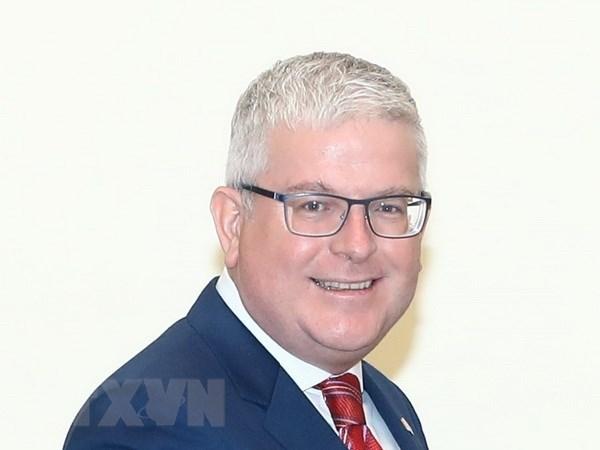 Australia apoyara a Vietnam a optimizar beneficios de CPTPP, afirma embajador australiano hinh anh 1