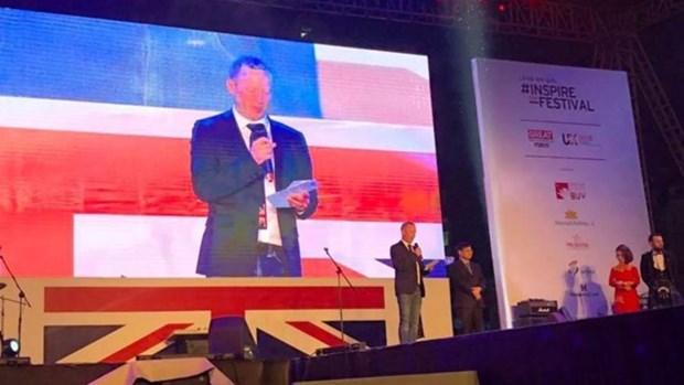 "Difunden cultura britanica en Hanoi mediante Festival ""Inspire Me"" hinh anh 1"