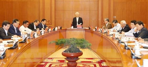 Maximo dirigente politico de Vietnam insta a sancionar a entidades ineficientes en lucha anticorrupcion hinh anh 1