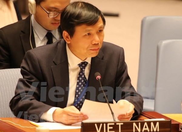 Vietnam comprometido con la promocion de multilateralismo y papel de ONU hinh anh 1