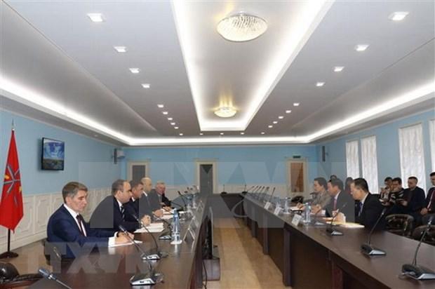 Embajador vietnamita aboga por mayor cooperacion con localidad rusa hinh anh 1