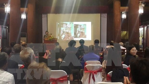 Presentan libro sobre patrimonios culturales intangibles de Hanoi hinh anh 1