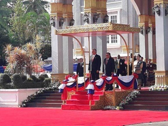 Cuba y Laos reafirman determinacion de agilizar cooperacion bilateral hinh anh 1
