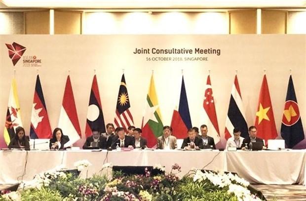 Singapur intensifica seguridad para Cumbre de ASEAN hinh anh 1
