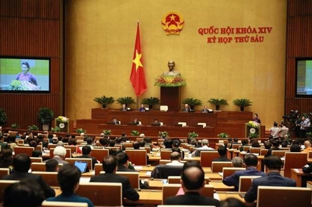 Parlamento de Vietnam ratifica Resolucion de aprobacion del CPTPP hinh anh 1