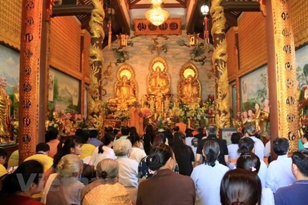 Crean Junta Coordinadora de la Sangha Budista de Vietnam en Laos hinh anh 1