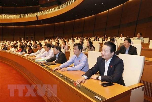 Parlamento de Vietnam aprueba resoluciones sobre inversion publica y CPTPP hinh anh 1