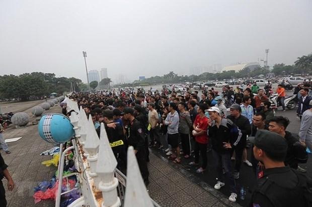 La aficion agota las entradas para duelo Vietnam- Malasia en Copa AFF Suzuki hinh anh 1