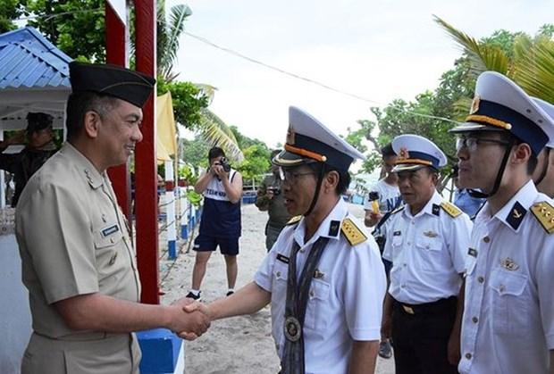 Promueven intercambio entre fuerzas navales de Vietnam y Filipinas hinh anh 1