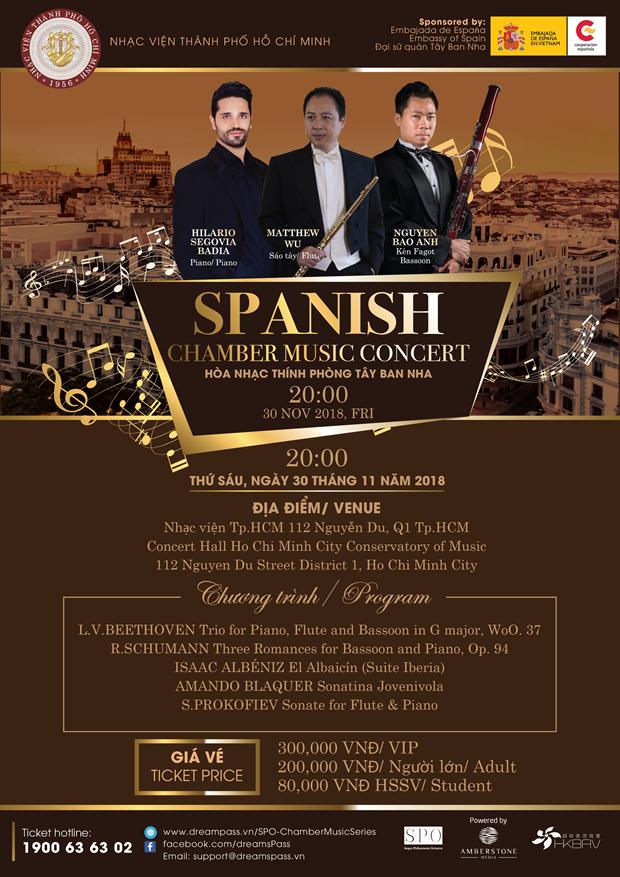 Llegara a Vietnam Concierto de musica de camara del pianista espanol Hilario Segovia hinh anh 1