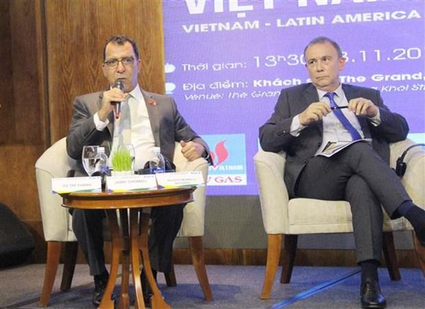 America Latina, mercado atractivo para empresas vietnamitas hinh anh 1
