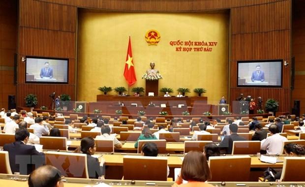 Parlamento de Vietnam analiza labores juridicas hinh anh 1