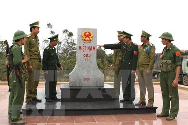 Vietnam y Laos trabajan por implementar convenios de gestion en frontera comun hinh anh 1